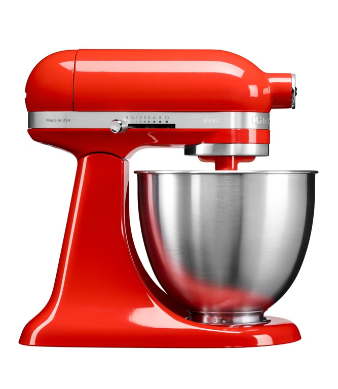 Онлайн каталог PROMENU: Миксер планетарный KitchenAid Artisan, мини-чаша 3,3 л, красный                                  KitchenAid 5KSM3311XEHT_r