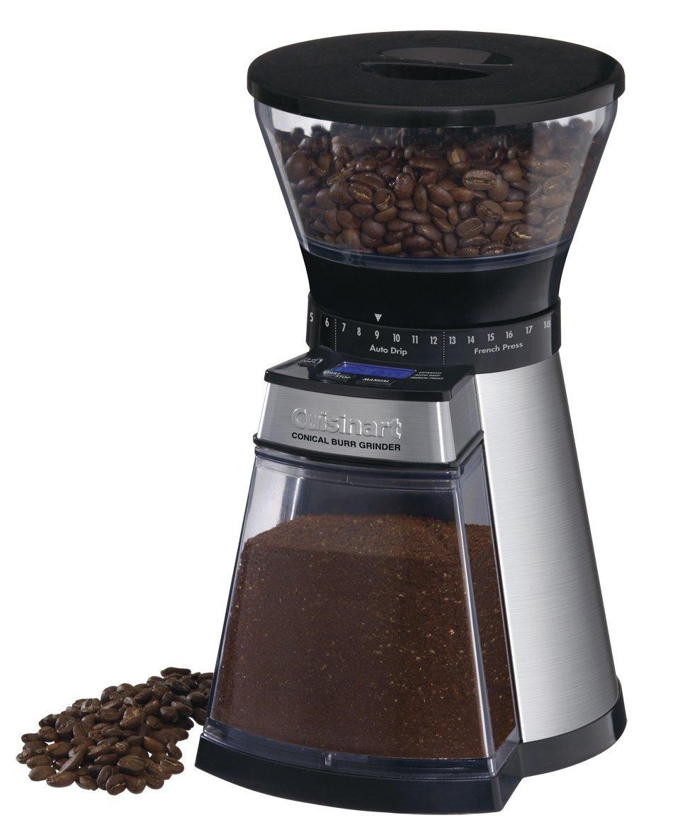 Онлайн каталог PROMENU: Кофемолка электрическая, с 18-ю степенями помола                                  Cuisinart DBM18E