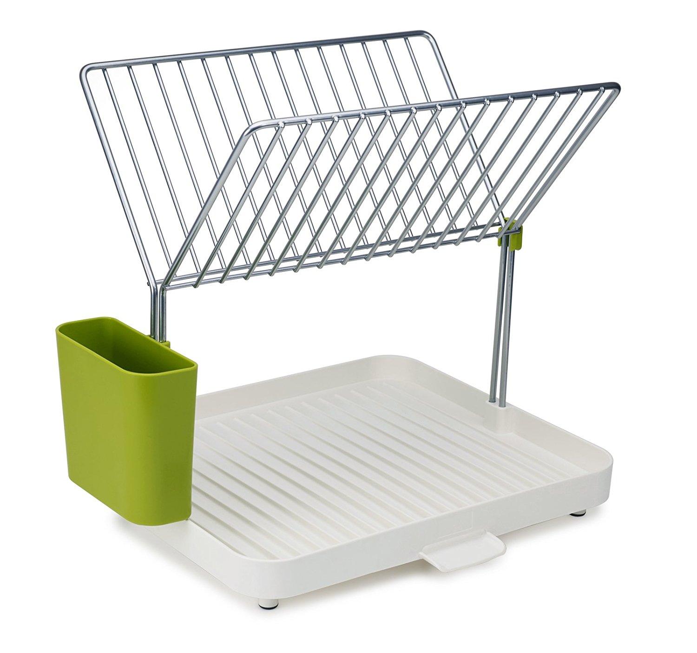 Онлайн каталог PROMENU: Сушилка для посуды и столовых приборов 2-уровневая со сливом y-rack                                  Joseph Joseph 85083
