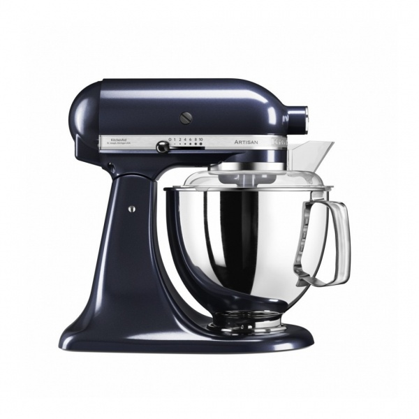 Онлайн каталог PROMENU: Миксер планетарный KitchenAid Artisan, 4,83 л, черничный                                  KitchenAid 5KSM175PSEUB