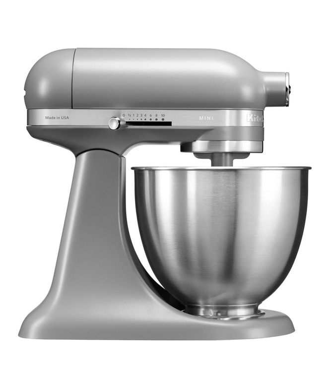 Онлайн каталог PROMENU: Миксер планетарный KitchenAid Artisan, мини-чаша 3,3 л, серый                                  KitchenAid 5KSM3311XEFG_r