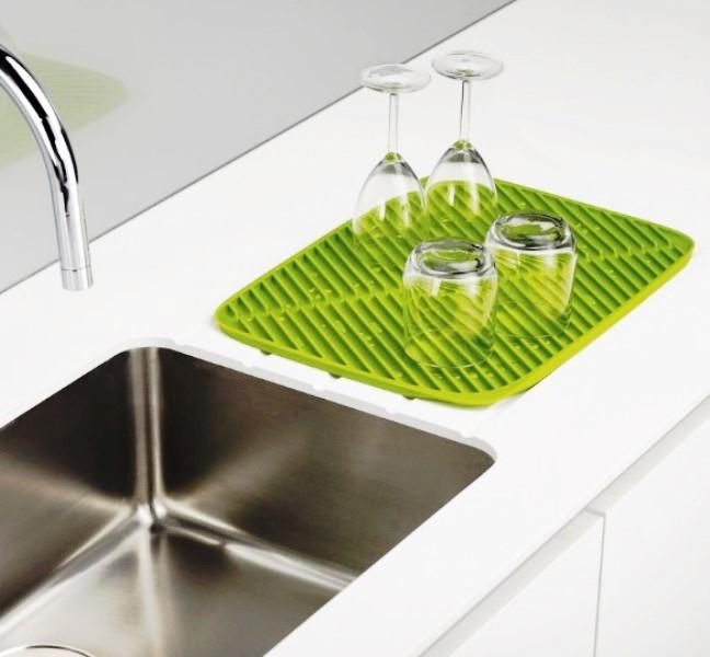 Онлайн каталог PROMENU: Коврик-сушка для посуды резиновый Joseph Joseph, 43,5х31,5х1 см, зеленый                                  Joseph Joseph 85088