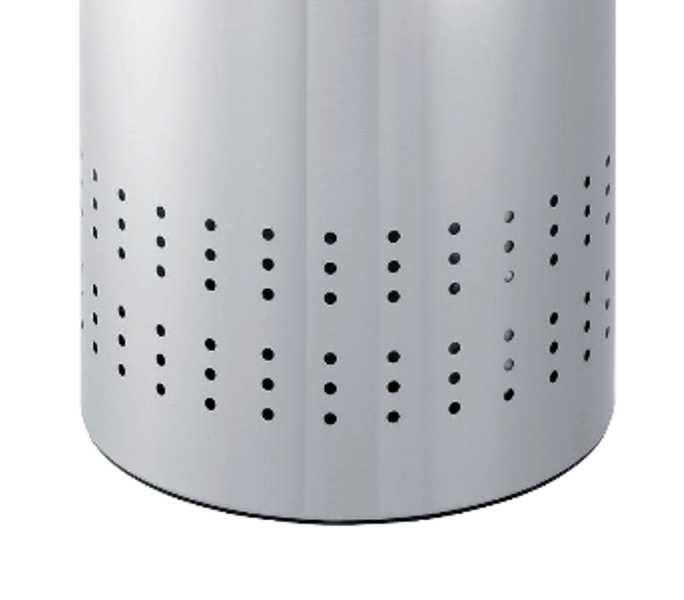 Бак для белья с деревянной крышкой Brabantia, объем 50 л, серебристый Brabantia 375309 фото 3