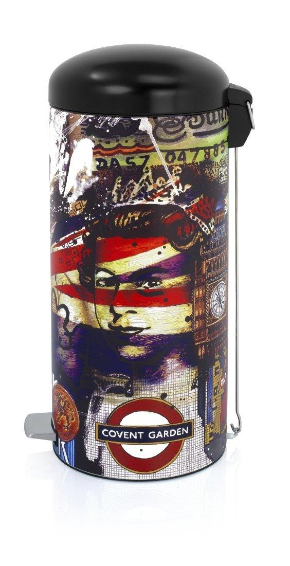 Онлайн каталог PROMENU: Бак для мусора Retro Bin Brabantia, объем 30 л, разноцветный Brabantia 480324
