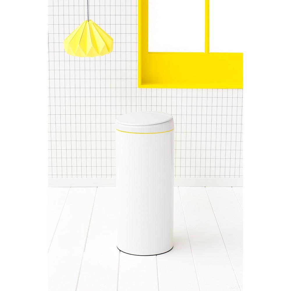 Бак для мусора Flip Bin Brabantia, объем 30 л, белый Brabantia 106866 фото 3