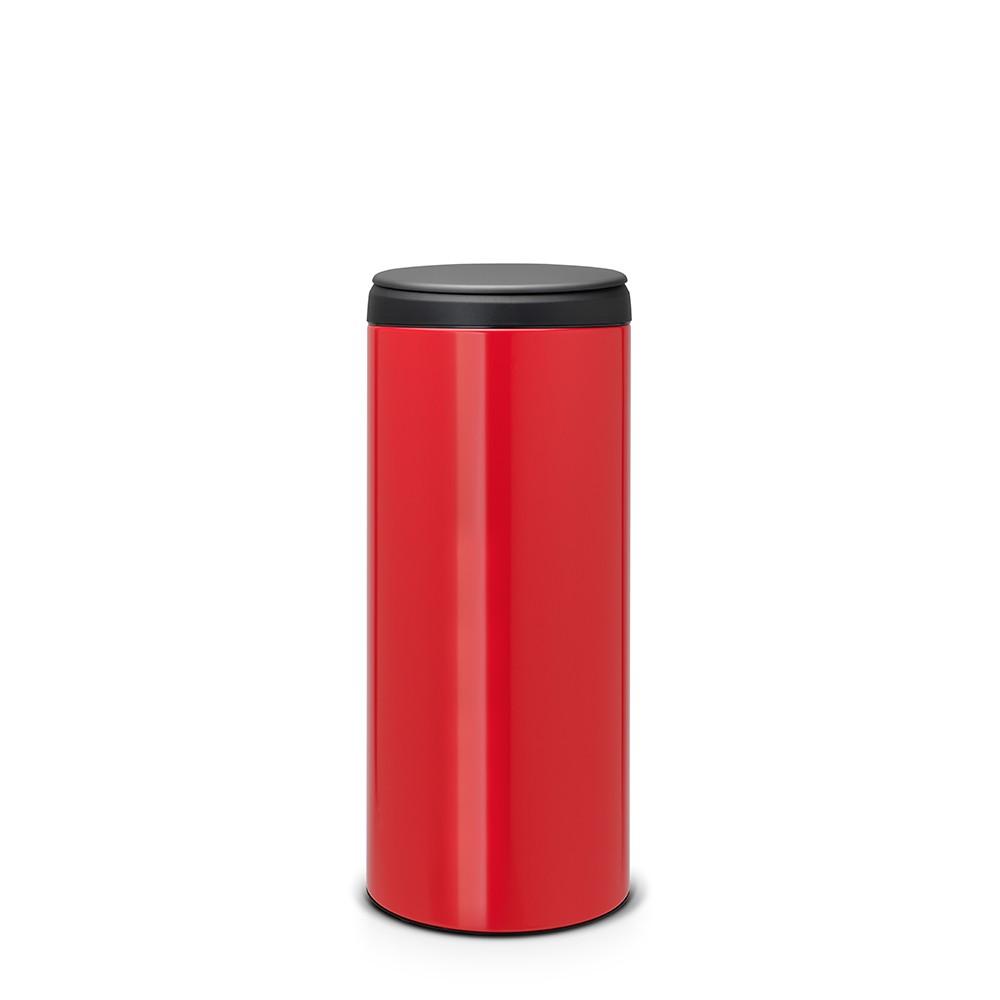 Онлайн каталог PROMENU: Бак для мусора Flip Bin Brabantia, объем 30 л, красный Brabantia 106903