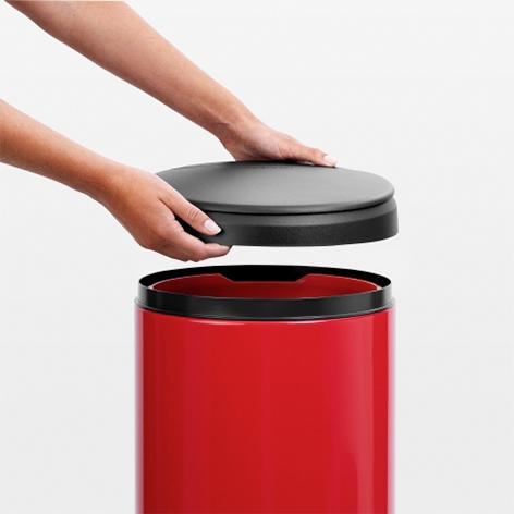 Бак для мусора Flip Bin Brabantia, объем 30 л, красный Brabantia 106903 фото 2