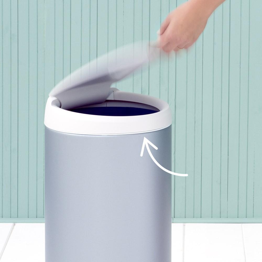 Бак для мусора Flip Bin Brabantia, объем 30 л, светло-зеленый Brabantia 106880 фото 2