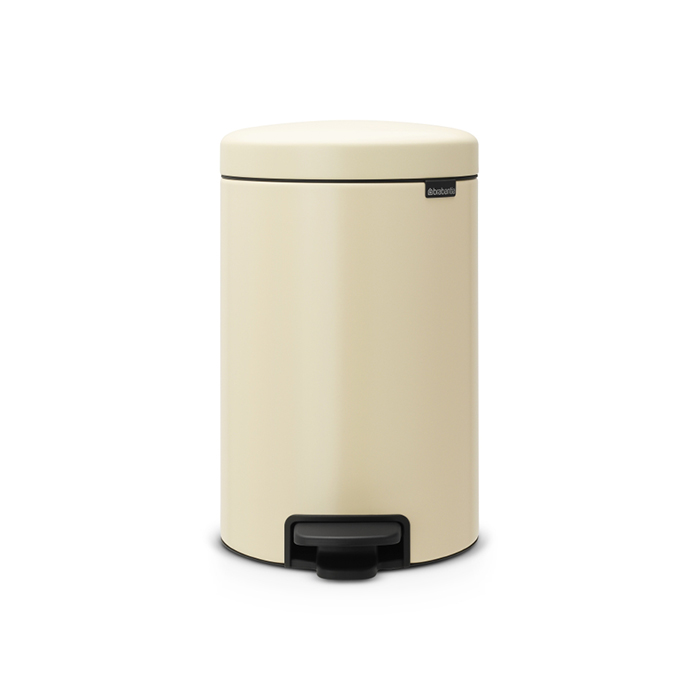 Бак для мусора Pedal Bin Brabantia newIcon, объем 12 л, бежевый Brabantia 113468 фото 1