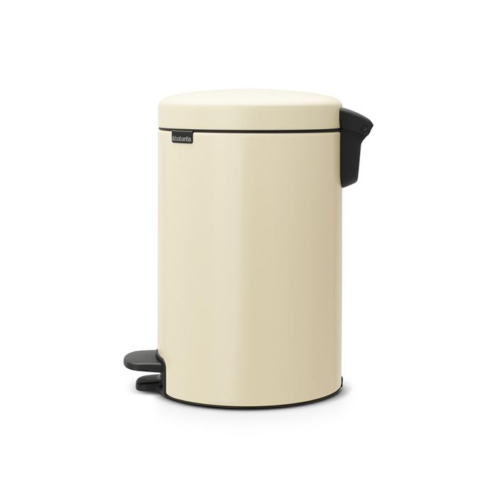 Бак для мусора Pedal Bin Brabantia newIcon, объем 12 л, бежевый Brabantia 113468 фото 2