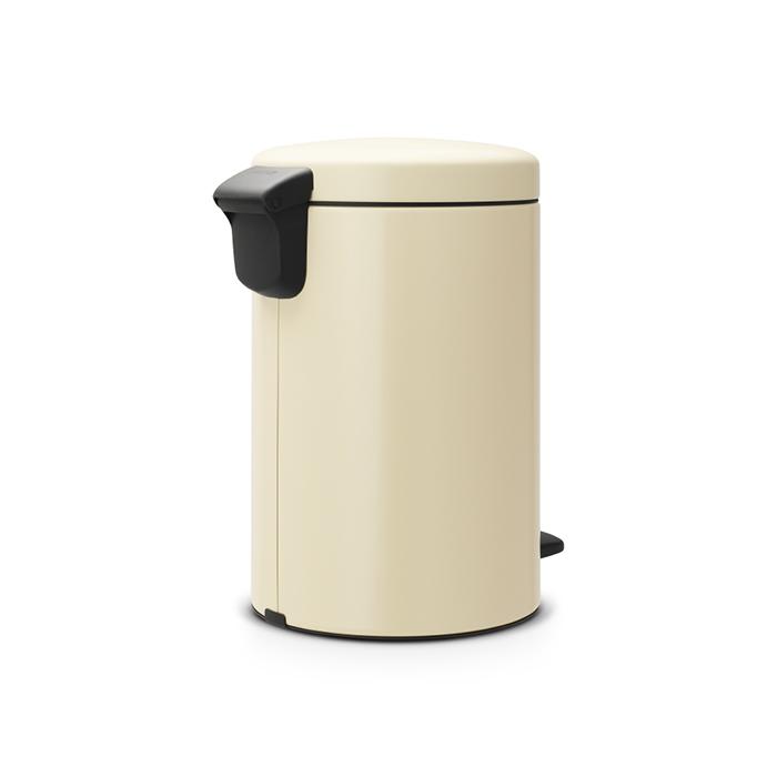 Бак для мусора Pedal Bin Brabantia newIcon, объем 12 л, бежевый Brabantia 113468 фото 3