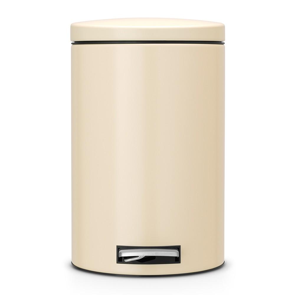 Онлайн каталог PROMENU: Бак для мусора Pedal Bin Brabantia, объем 12 л, бежевый Brabantia 478048