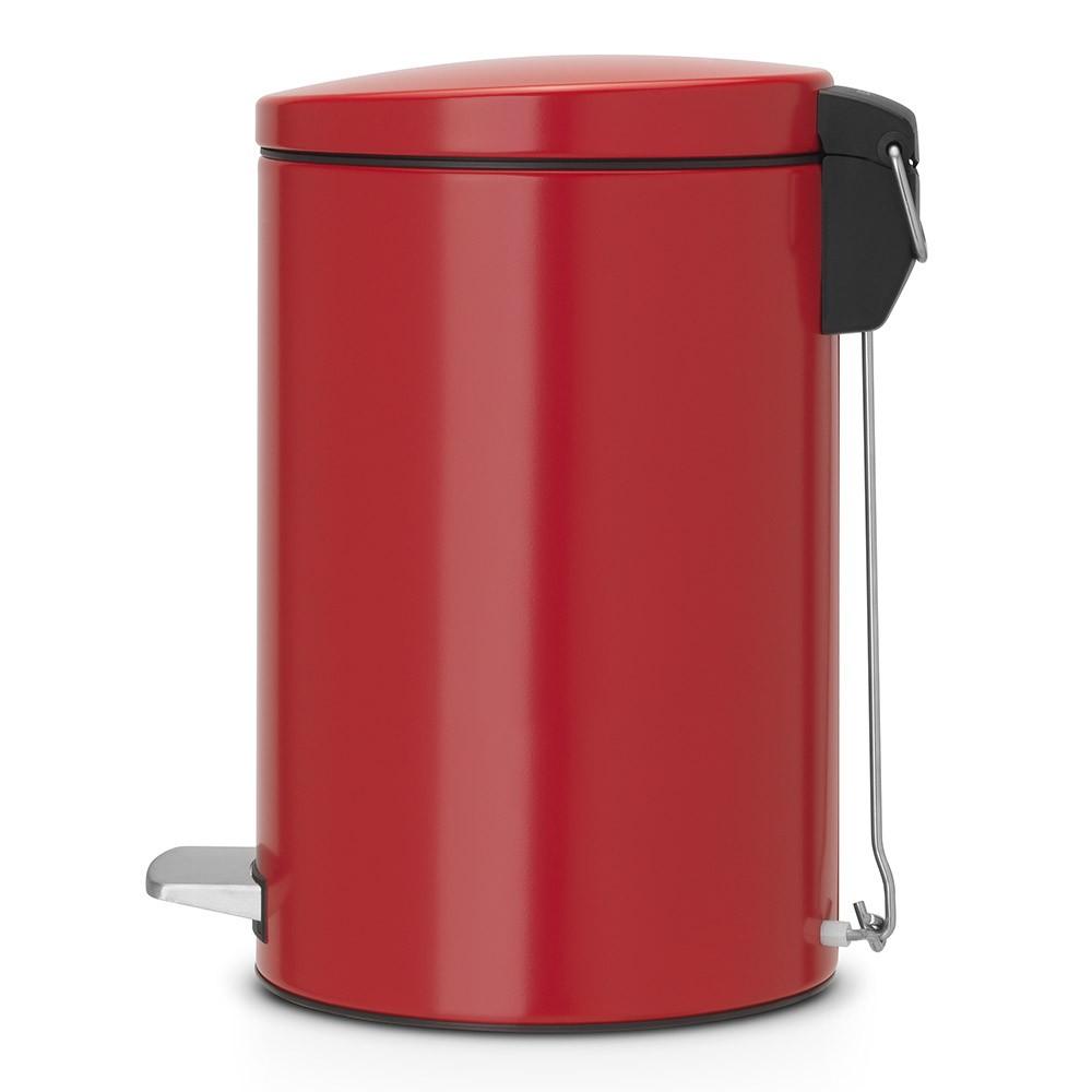 Бак для мусора Pedal Bin Brabantia, объем 12 л, красный Brabantia 483721 фото 1
