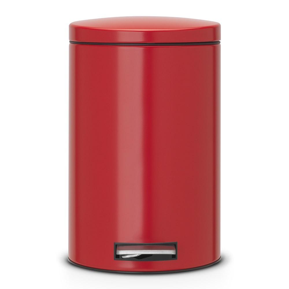 Онлайн каталог PROMENU: Бак для мусора Pedal Bin Brabantia, объем 12 л, красный Brabantia 483721