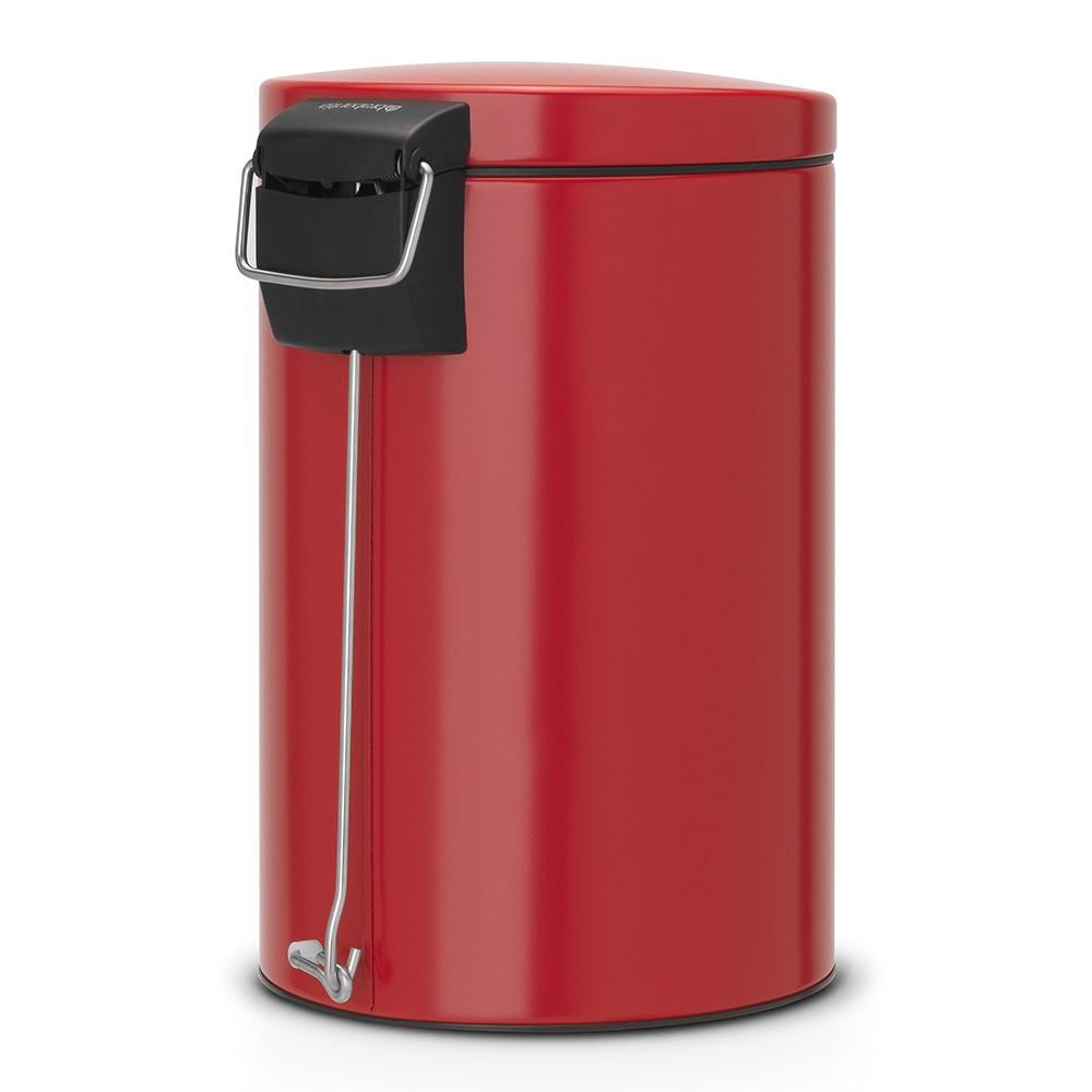 Бак для мусора Pedal Bin Brabantia, объем 12 л, красный Brabantia 483721 фото 2