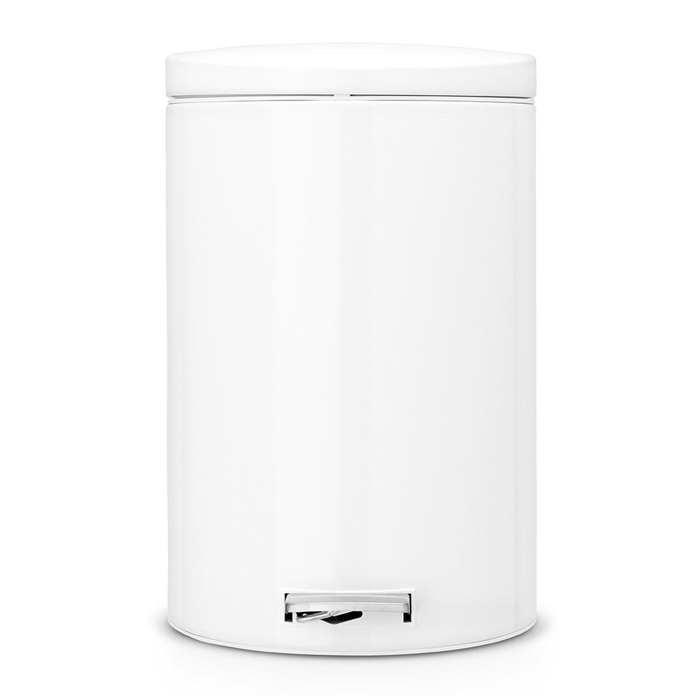 Онлайн каталог PROMENU: Бак для мусора Pedal Bin Brabantia, объем 20 л, белый Brabantia 478260