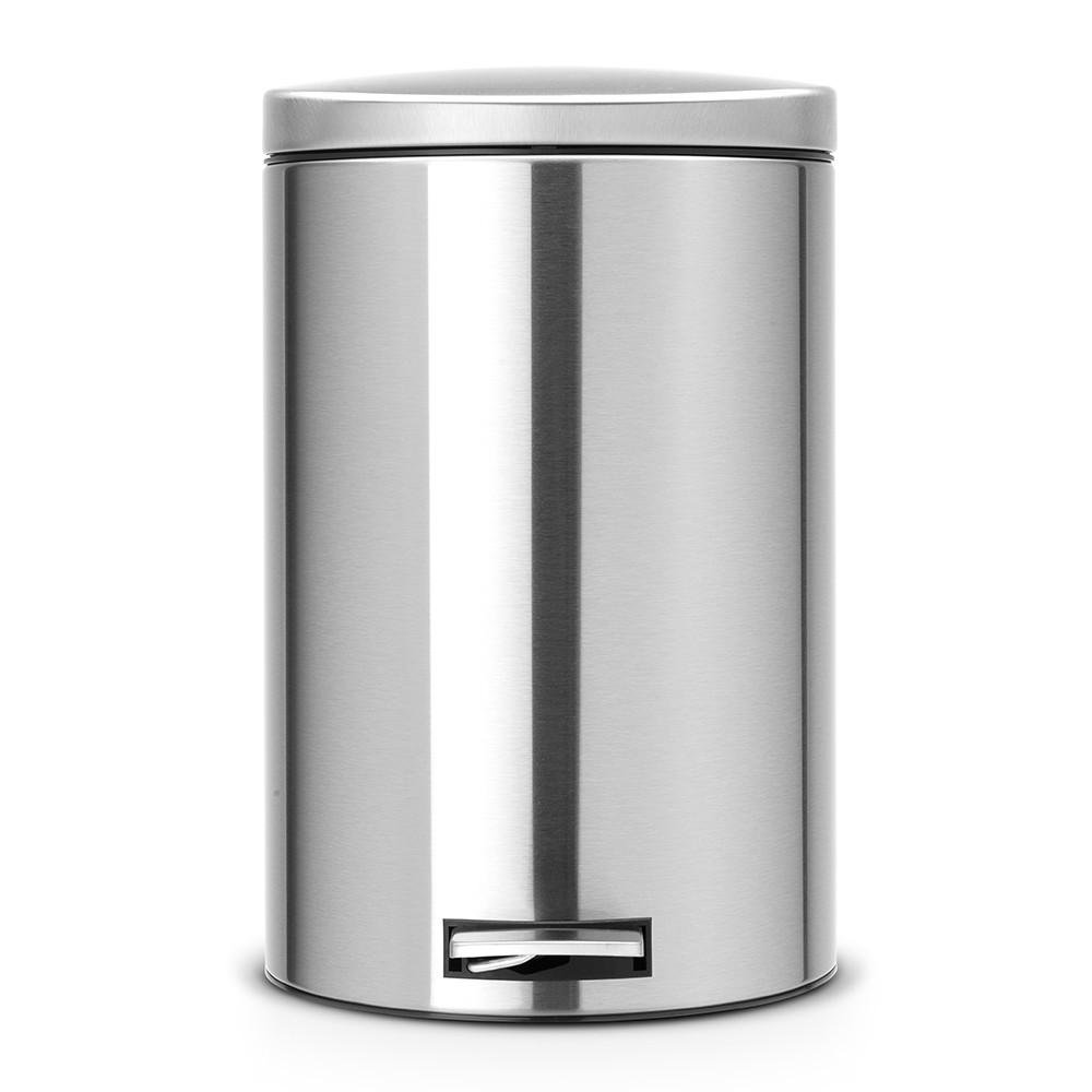 Онлайн каталог PROMENU: Бак для мусора Pedal Bin Brabantia, объем 20 л, серебристо-серый Brabantia 478406