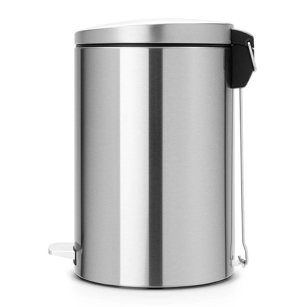Бак для мусора Pedal Bin Brabantia, объем 20 л, серебристо-серый Brabantia 478406 фото 1