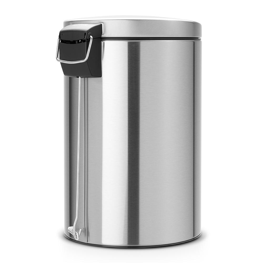 Бак для мусора Pedal Bin Brabantia, объем 20 л, серебристо-серый Brabantia 478406 фото 2