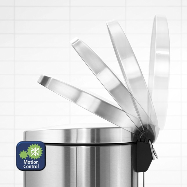 Бак для мусора Pedal Bin Brabantia, объем 20 л, серебристо-серый Brabantia 478406 фото 3