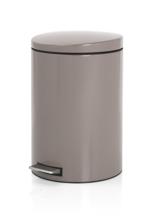 Онлайн каталог PROMENU: Бак для мусора Pedal Bin Brabantia, объем 20 л, темно-серый Brabantia 478444