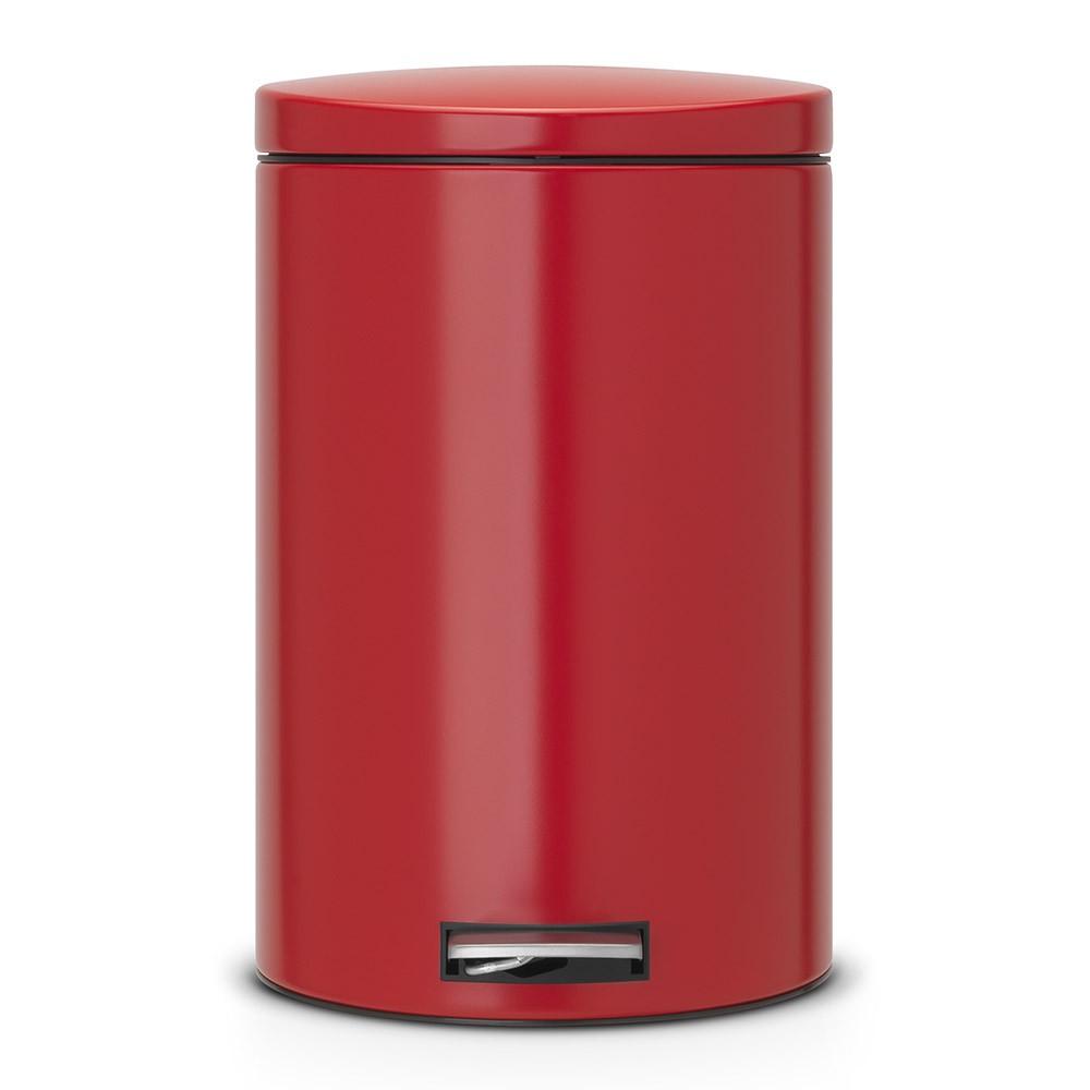 Онлайн каталог PROMENU: Бак для мусора Pedal Bin Brabantia, объем 20 л, красный Brabantia 483745