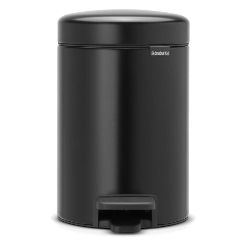 Онлайн каталог PROMENU: Бак для мусора Pedal Bin Brabantia, 3 л, черный Brabantia 113321