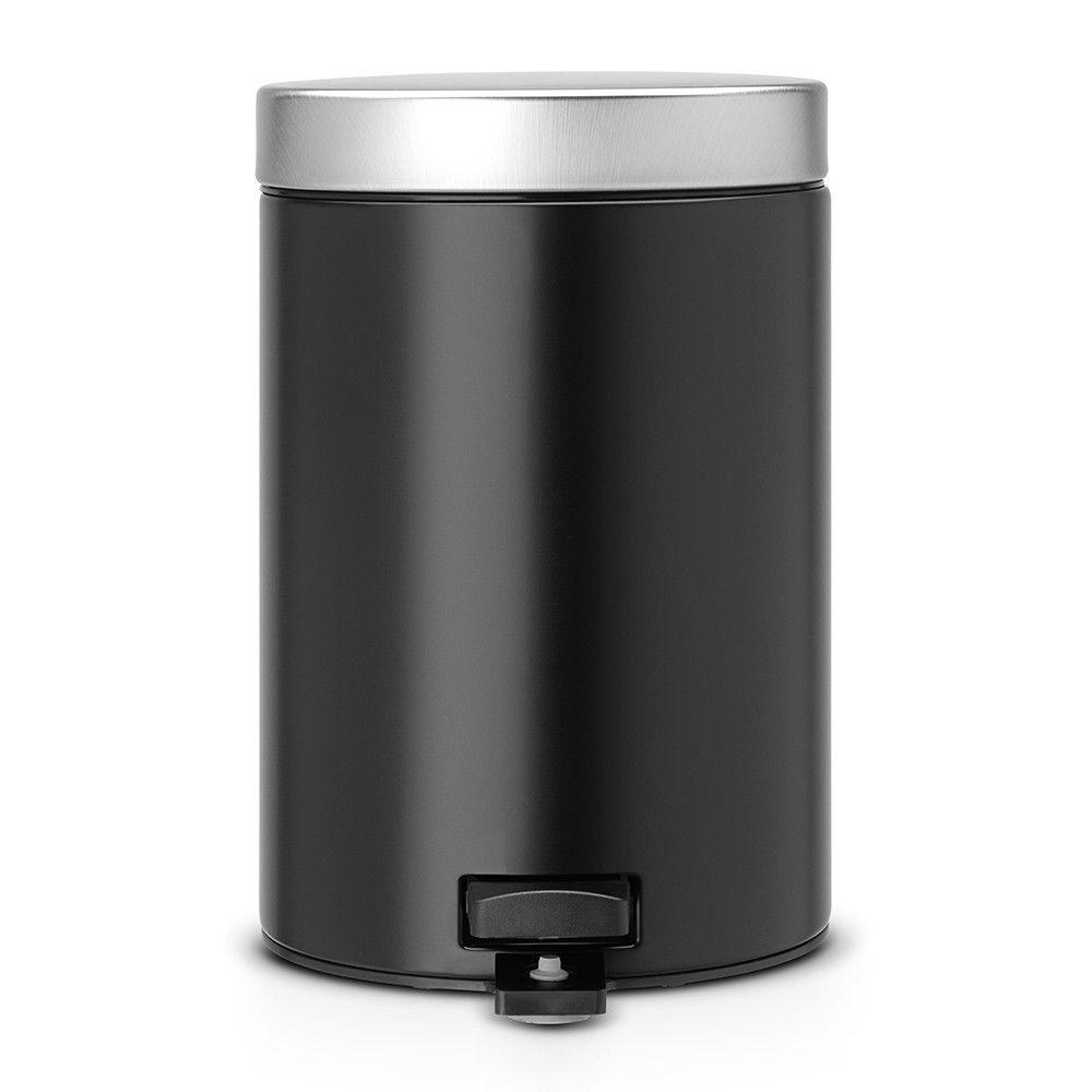 Онлайн каталог PROMENU: Бак для мусора Pedal Bin Brabantia, объем 3 л, черный матовый Brabantia 335785