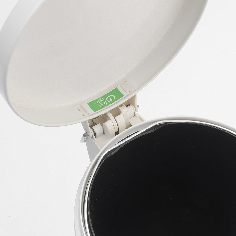 Бак для мусора Pedal Bin Brabantia, объем 30 л, белый Brabantia 478741 фото 2
