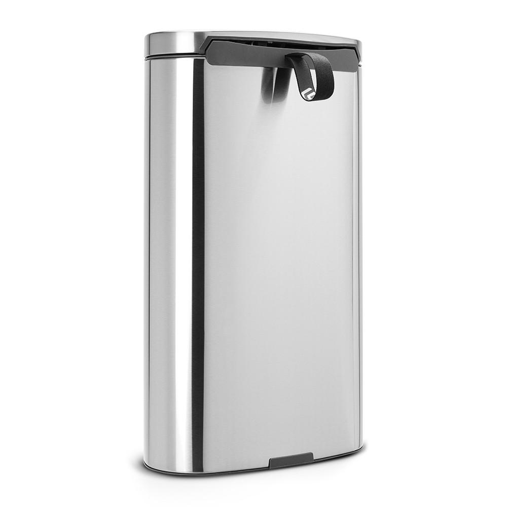Бак для мусора Pedal Bin Brabantia, объем 30 л, серебристо-серый Brabantia 482007 фото 2