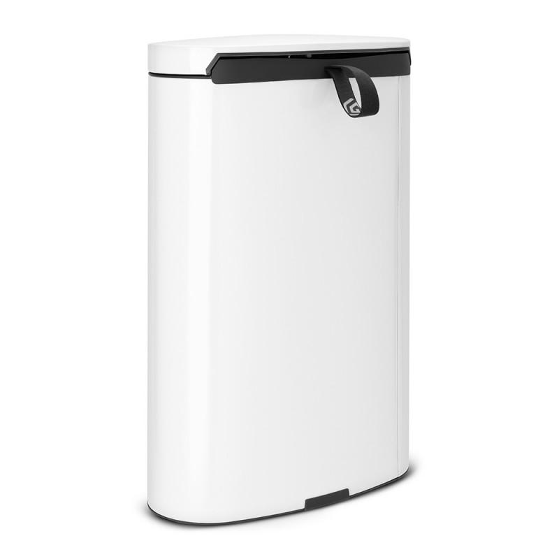 Бак для мусора Pedal Bin Brabantia, объем 40 л, белый Brabantia 485244 фото 2