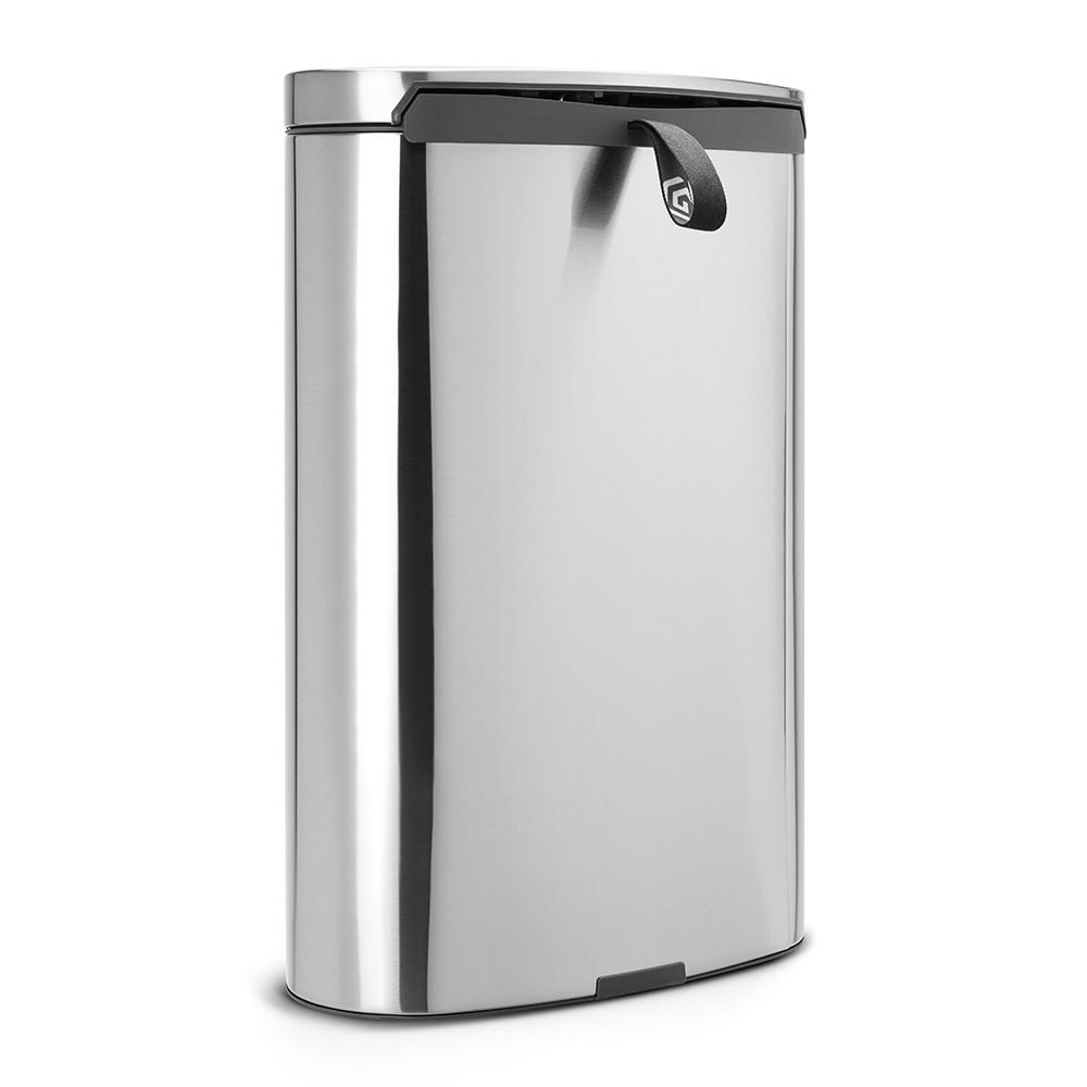 Бак для мусора Pedal Bin Brabantia, объем 40 л, серебристый Brabantia 482021 фото 2