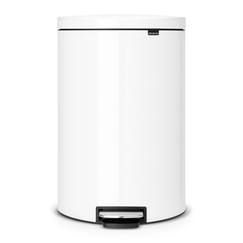 Онлайн каталог PROMENU: Бак для мусора Pedal Bin Brabantia, объем 40 л, белый Brabantia 485244