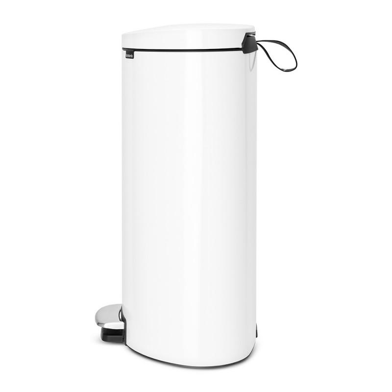 Бак для мусора Pedal Bin Brabantia, объем 40 л, белый Brabantia 485244 фото 1