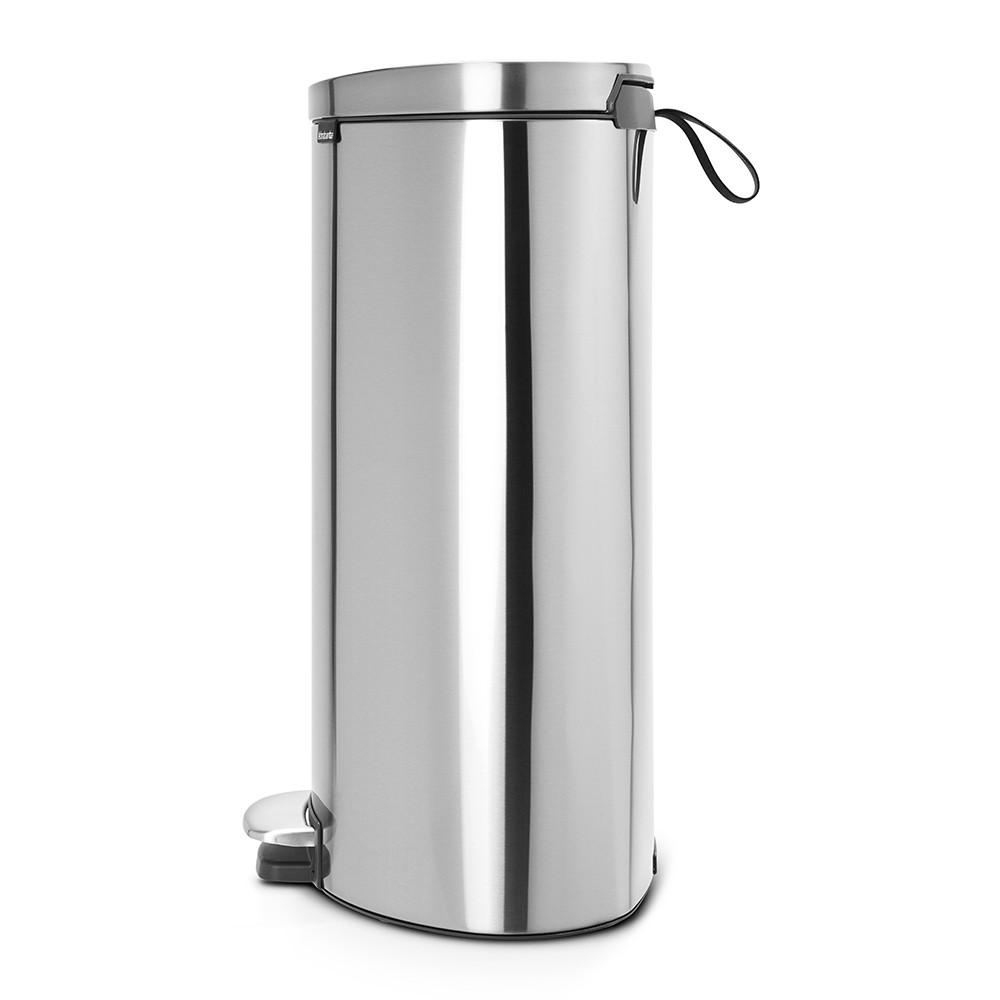 Бак для мусора Pedal Bin Brabantia, объем 40 л, серебристый Brabantia 482021 фото 1
