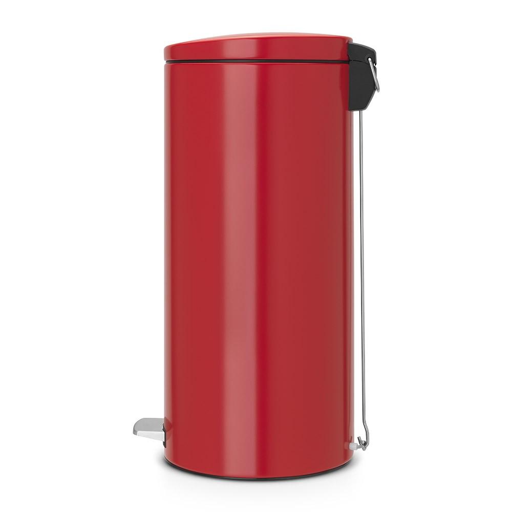 Бак для мусора Pedal Bin Silent Brabantia, объем 30 л, красный Brabantia 483769 фото 1