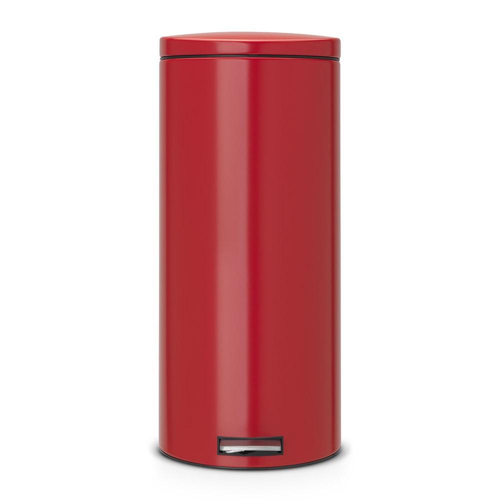 Онлайн каталог PROMENU: Бак для мусора Pedal Bin Silent Brabantia, объем 30 л, красный Brabantia 483769