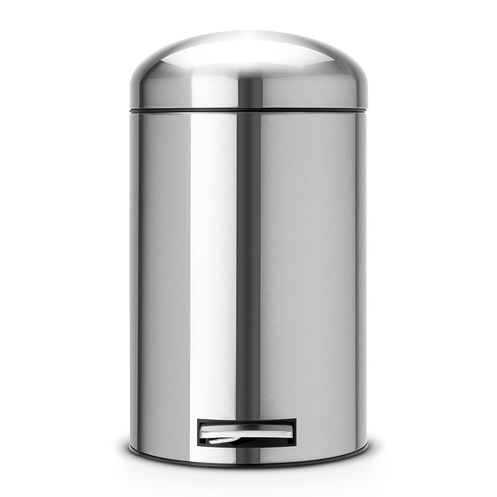 Онлайн каталог PROMENU: Бак для мусора Retro Bin Brabantia, объем 12 л, серебристый Brabantia 479120
