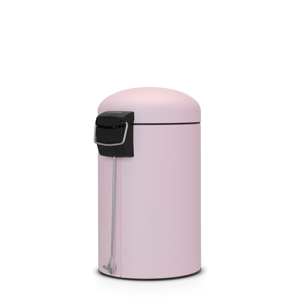 Бак для мусора Retro Bin Brabantia, объем 12 л, светло-розовый Brabantia 482502 фото 2