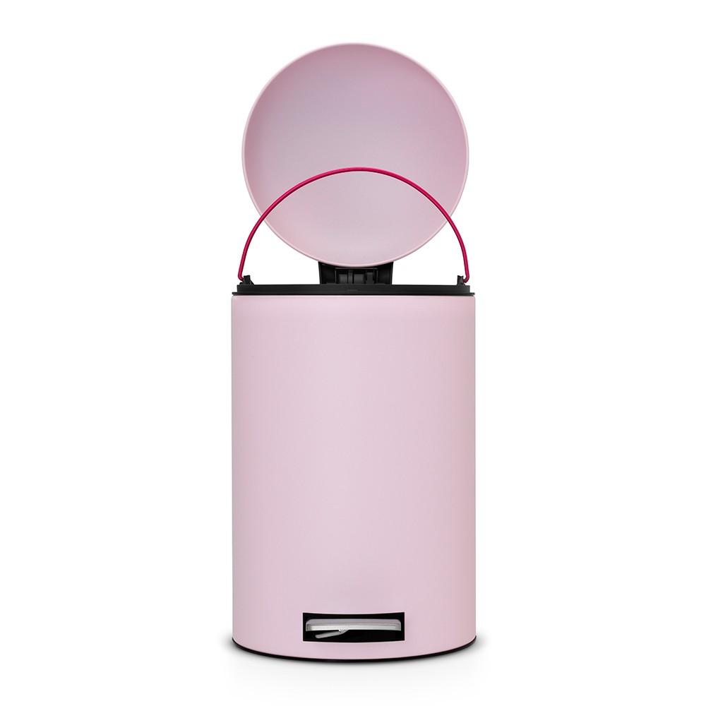 Бак для мусора Retro Bin Brabantia, объем 12 л, светло-розовый Brabantia 482502 фото 3