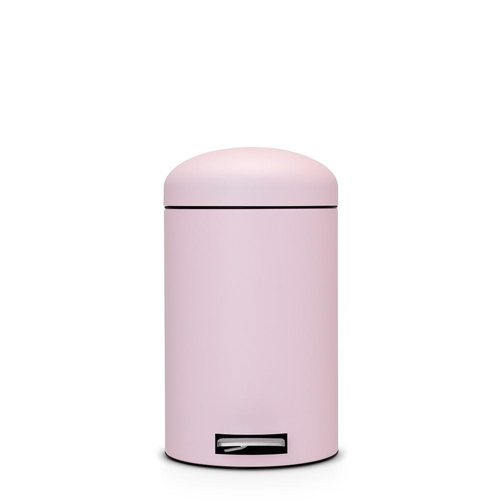 Онлайн каталог PROMENU: Бак для мусора Retro Bin Brabantia, объем 12 л, светло-розовый Brabantia 482502