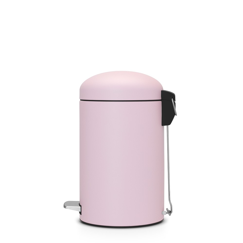 Бак для мусора Retro Bin Brabantia, объем 12 л, светло-розовый Brabantia 482502 фото 1
