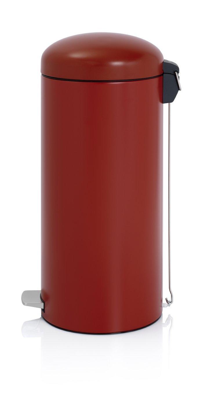 Онлайн каталог PROMENU: Бак для мусора Retro Bin Brabantia, объем 30 л, темно-красный Brabantia 479304