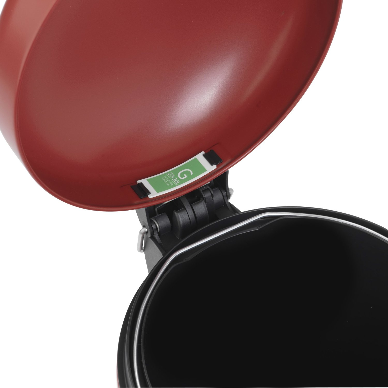 Бак для мусора Retro Bin Brabantia, объем 30 л, темно-красный Brabantia 479304 фото 2