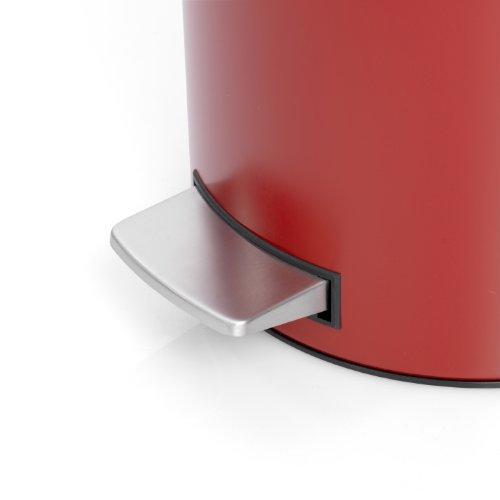 Бак для мусора Retro Bin Brabantia, объем 30 л, темно-красный Brabantia 479304 фото 3