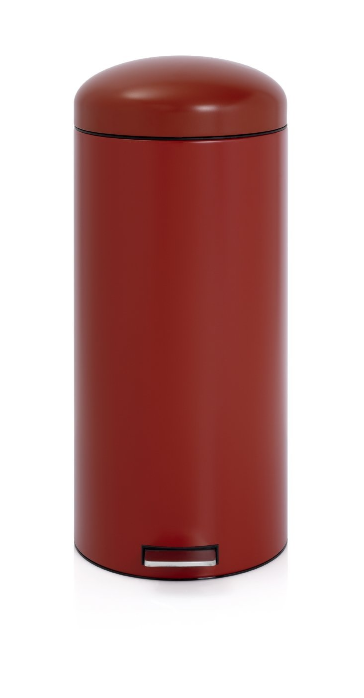 Бак для мусора Retro Bin Brabantia, объем 30 л, темно-красный Brabantia 479304 фото 1