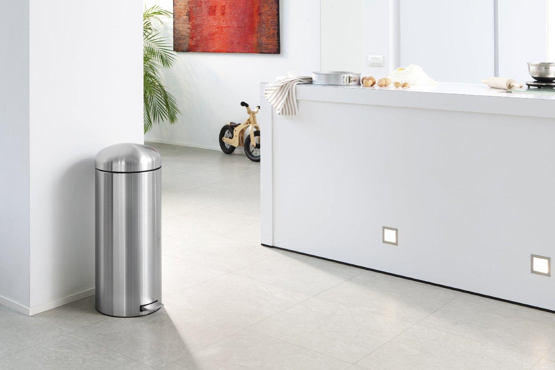 Бак для мусора Retro Bin Brabantia, объем 30 л, стальной Brabantia 479366 фото 7