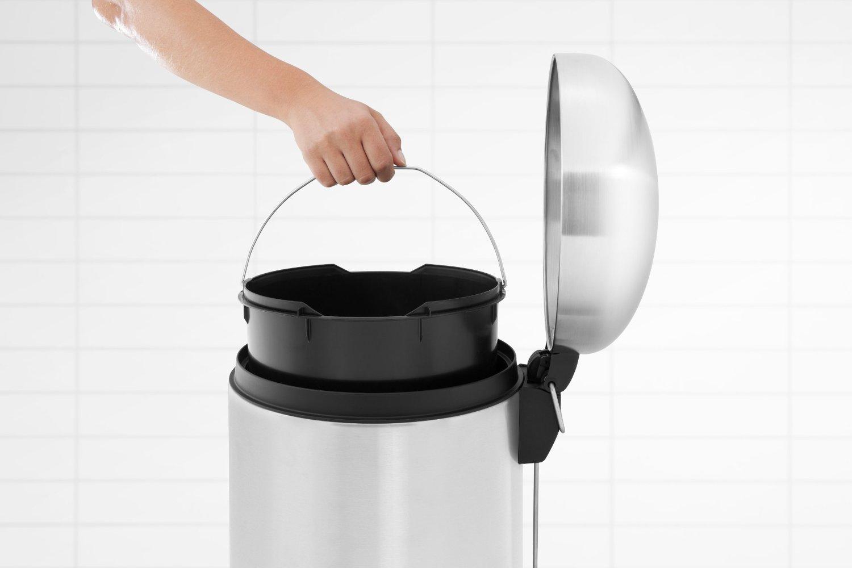 Бак для мусора Retro Bin Brabantia, объем 30 л, стальной Brabantia 479366 фото 2