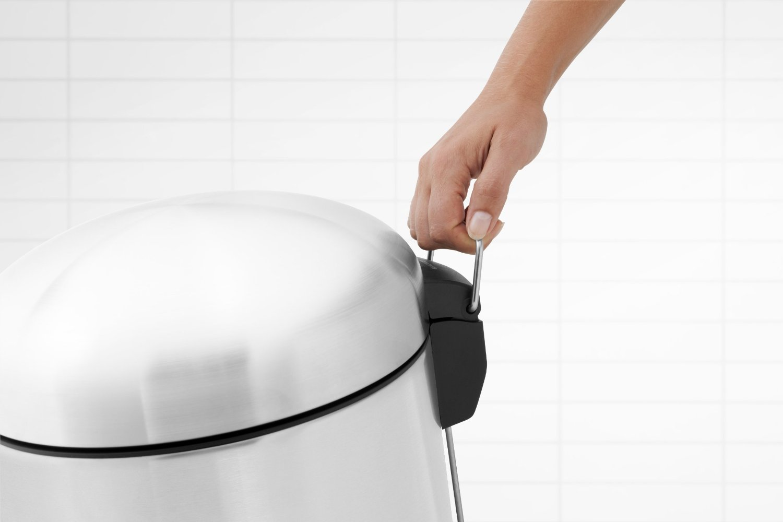 Бак для мусора Retro Bin Brabantia, объем 30 л, стальной Brabantia 479366 фото 10