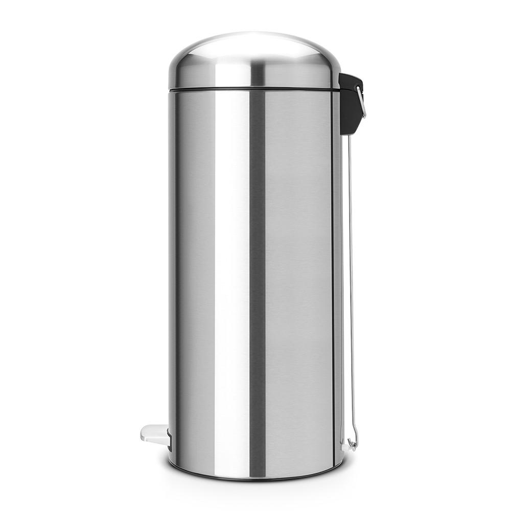 Бак для мусора Retro Bin Brabantia, объем 30 л, стальной Brabantia 479366 фото 3